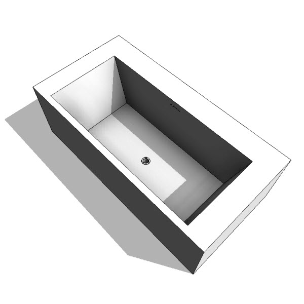 WETSTYLE Cube Collection BC02 Bathtub