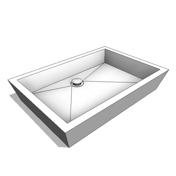 WETSTYLE Cube Collection Vessel Sink
